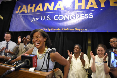 Jahana Hayes, 2016 Teacher of the Year, could be Connecticut's first black Democrat in Congress
