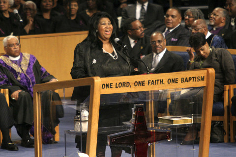 Aretha Franklin funeral to be held at church where she sang for Rosa Parks service