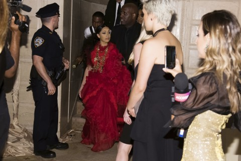 Cardi B escorted out of fashion party after lunging at Nicki Minaj