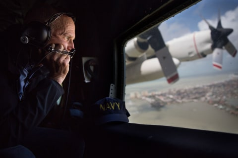 Campaign ad watch: The air war goes on, even during a hurricane