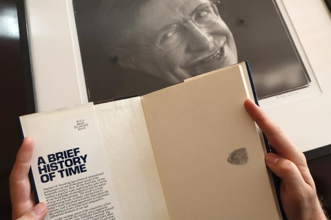 Stephen Hawking's wheelchair and thesis to be auctioned by Christie's