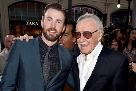 Superhero stars from the Marvel Universe mourn Stan Lee's death