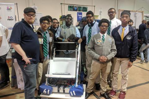 Houston robotics team pushes past financial woes to address STEM gap