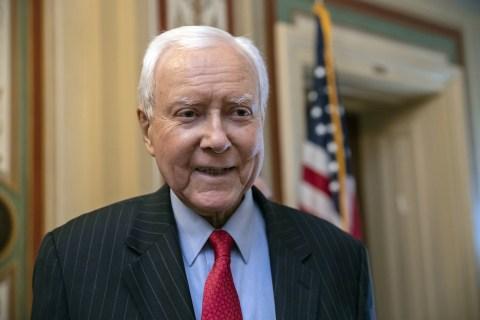Orrin Hatch warns Senate 'is in crisis' in farewell speech