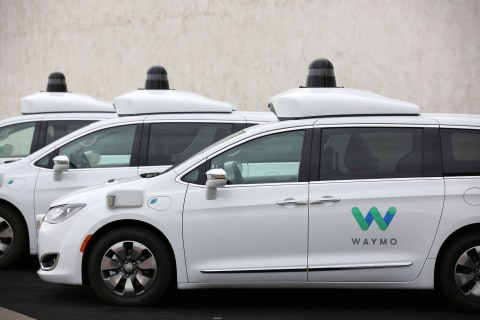 Humans harass and attack self-driving Waymo cars