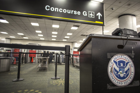 Terminal at Houston airport closed amid government shutdown