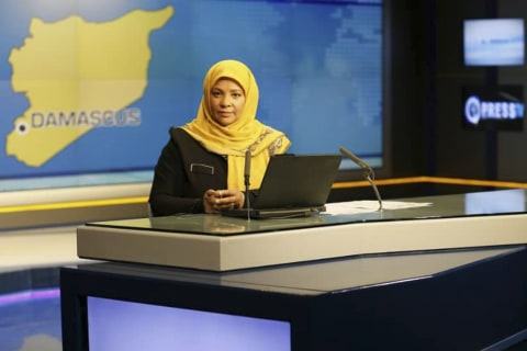 American-born journalist for Iranian TV is detained in U.S.