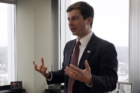 Democratic mayor Pete Buttigieg running for president; would be first openly gay nominee