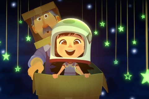 Animated short film 'One Small Step' celebrates the pursuit of a dream