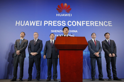 China's Huawei sues the U.S., claiming it shouldn't be blocked from selling to federal government