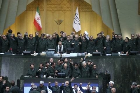 Designating Iran's Revolutionary Guard as terror group could jeopardize U.S. troops