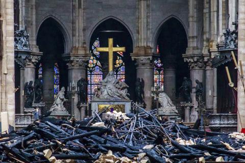 Notre Dame fire: Macron's five-year rebuilding pledge is unrealistic, experts warn