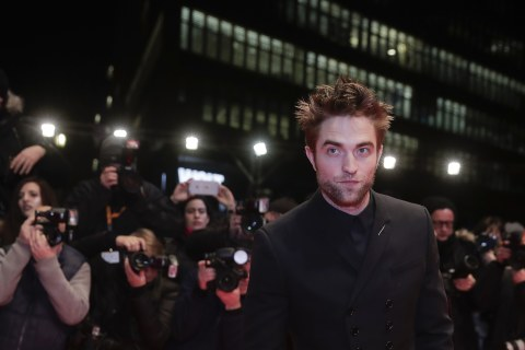 Robert Pattinson is officially 'The Batman'