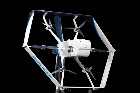 Amazon debuts its new delivery drone, says it will begin operation 'within months'