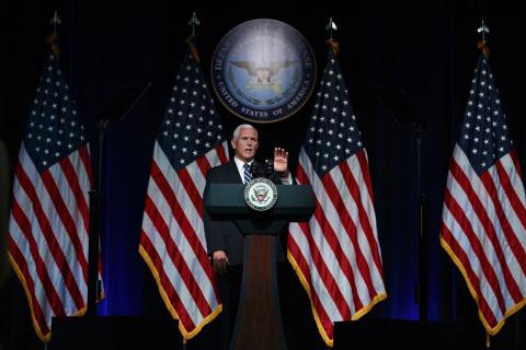 'One American flag flies': Pence defends barring pride flags on U.S. embassy flagpoles