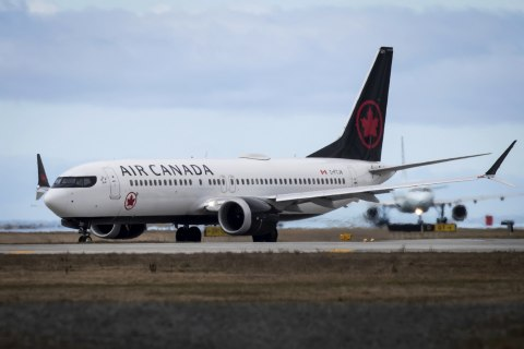 Air Canada flight with damaged engine makes emergency landing in Madrid