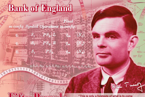 Gay codebreaker Alan Turing to be featured on British bank note