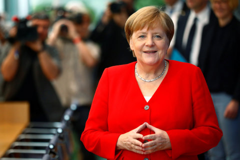 Germany's Angela Merkel expresses 'solidarity' with Democratic congresswomen