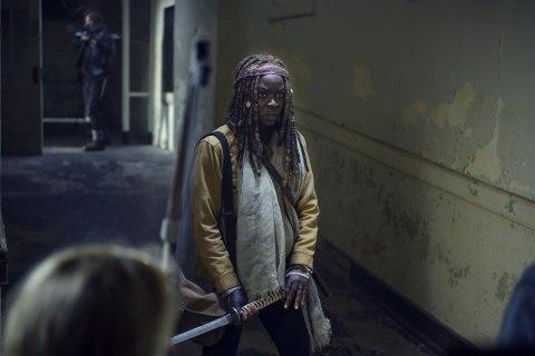 Danai Gurira, who stars as Michonne on 'The Walking Dead,' leaving show after new season