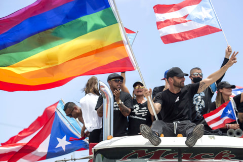 For Puerto Rico's LGBTQ community, fight doesn't end with Rosselló