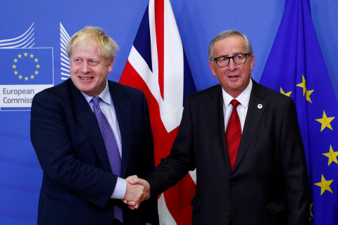 U.K., E.U. agree to new divorce deal in key Brexit breakthrough