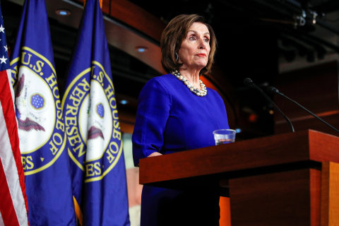 Pelosi unleashes on Trump: 'I shredded his state of his mind address'