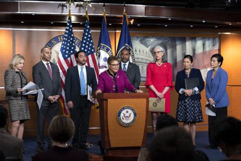 Black, Asian and Hispanic House caucus chairs unite in 'no tolerance' for coronavirus racism