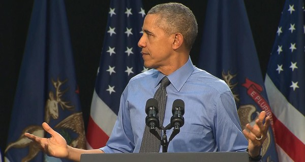 Obama in Flint: 'Can I Get Some Water?'