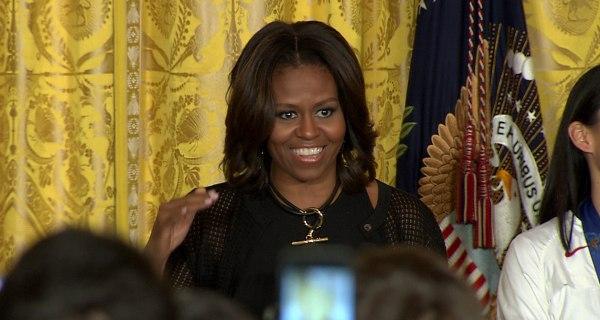 You Do 'the Craziest Stuff,' Obama Tells Athletes