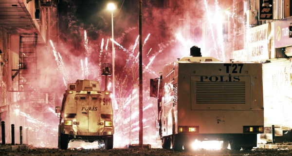 Two Killed as Protesters Clash With Riot Cops in Turkey
