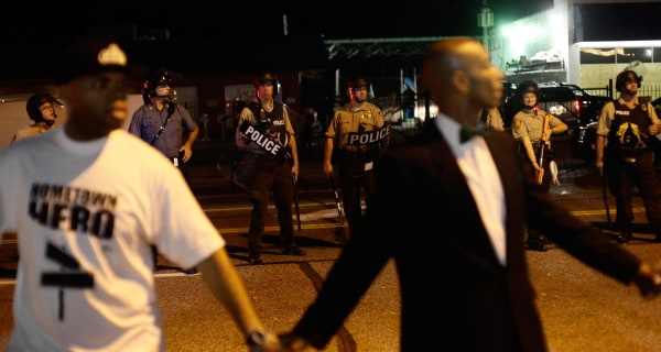 'Different Dynamic' to Michael Brown Protests in Ferguson, Cops Say