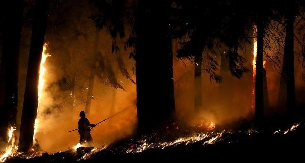 Suspected Arsonist Held on $10 Billion Bail for California Blaze