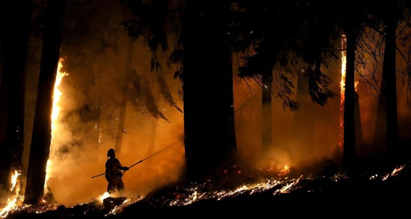 Suspected Arsonist Held on $10 Million Bail for California Blaze