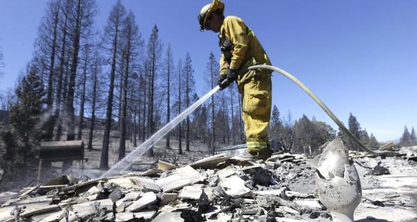 Arson Arrest in Wildfire That Devastated California Town