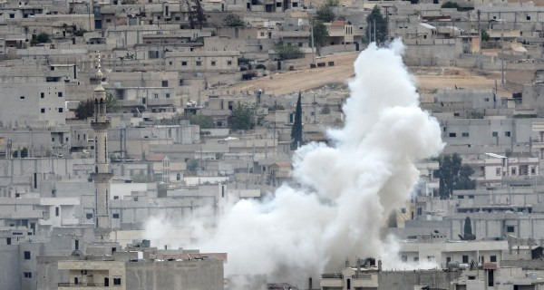 U.S. Drops Weapons to Kurds Defending Kobani