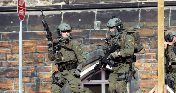 Soldier Shot Near Canadian Parliament, Authorities Say