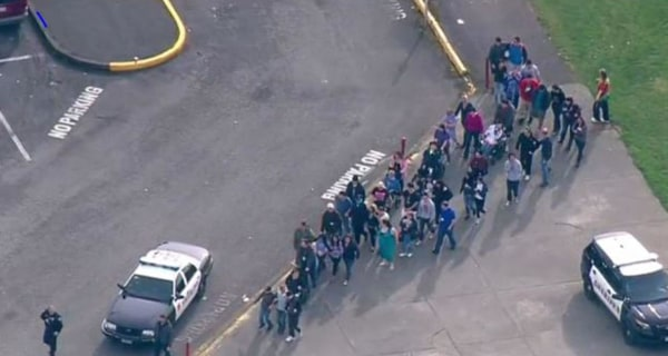 Police Respond to Shooting Report at Marysville-Pilchuck High School