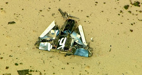 Virgin Galactic's SpaceShipTwo Crashes: 1 Dead, 1 Injured