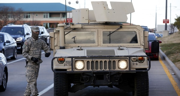 Governor Nixon Orders 2,200 National Guard Troops Into Ferguson