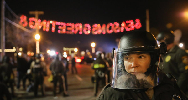 Dozens Arrested on 'Much Better Night' in Ferguson, Missouri