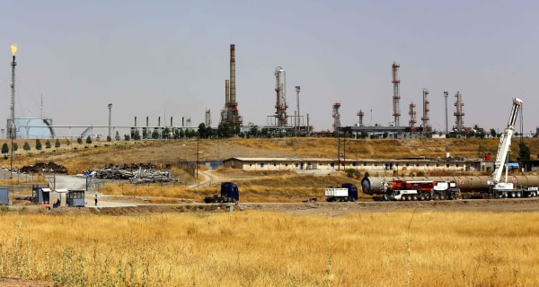 Amid Conflict with ISIS, Iraq Pumps Oil Like There's No Tomorrow