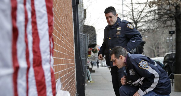 Eric Garner's Mother and Widow Denounce Killing of NYPD Officers