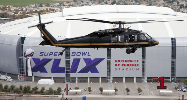 Super Bowl Is Law Enforcement's Biggest Game