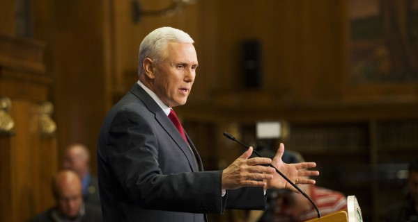 Indiana Gov. Mike Pence Says Religious Freedom Law Doesn't OK Discrimination