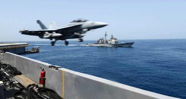 Convoy of Iranian Ships Parked in Arabian Sea, U.S. Officials Say