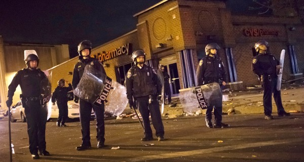 Baltimore Reels After Freddie Gray Protests Descend Into Chaos