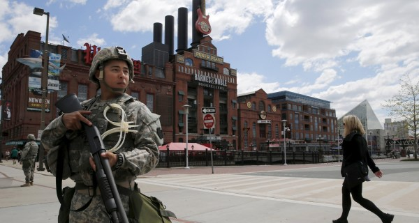 After Riots, Baltimore Police Vow to 'Keep This City Safe'