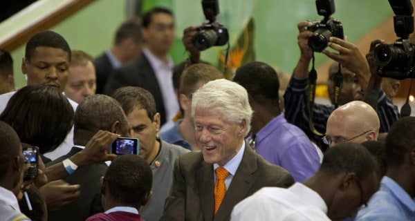 Bill Clinton Defends His Foundation's Foreign Money