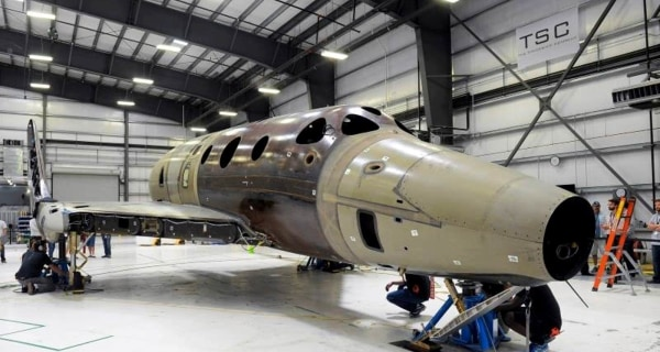 Virgin Galactic's SpaceShipTwo 2.0 Puts 'Weight on Wheels'