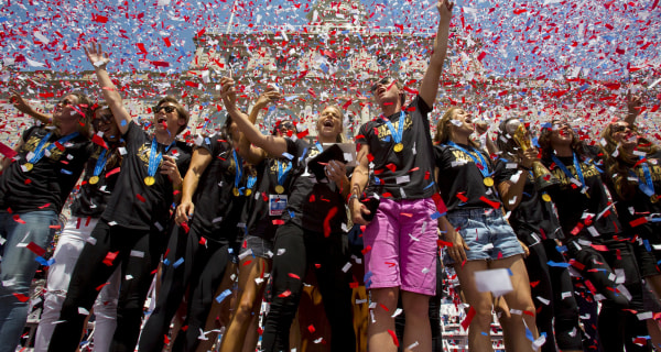 Canyon of Heroines: Team USA Welcomed After World Cup Win
